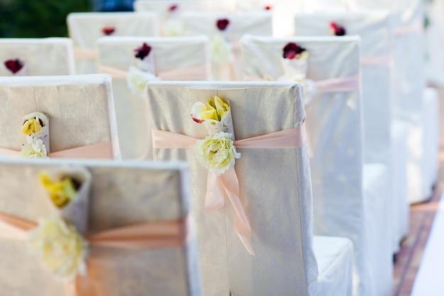 Sillas ceremonia de boda