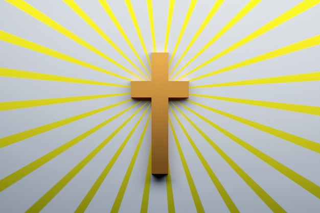 Símbolo de la cruz del cristianismo
