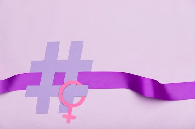 Símbolo del día internacional de la mujer