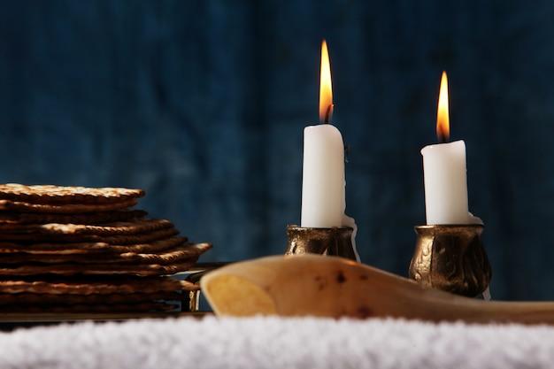 Símbolo de la festividad judía, pascua judía de la comida judía pascua judía