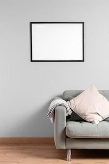 Simulacros de marco en la pared