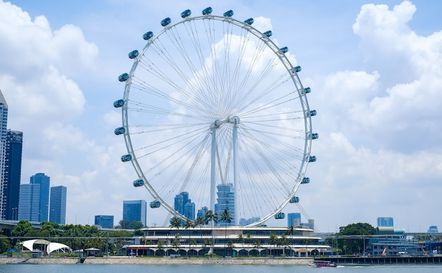 Singapore flyer, rueda de la fortuna