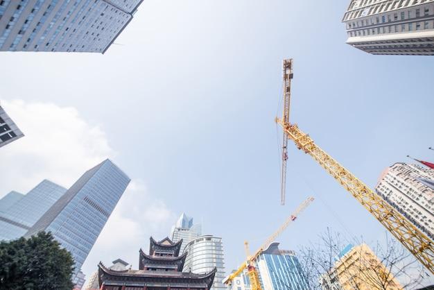 Singapur nadie urbano moderno alto