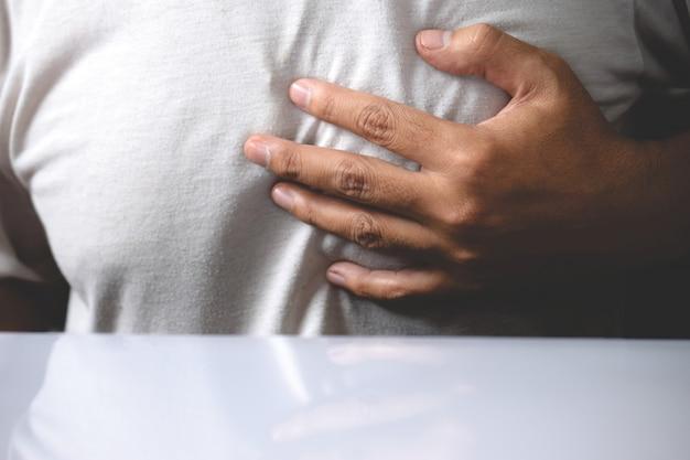 Síntoma de ataque al corazón, enfermedad del corazón