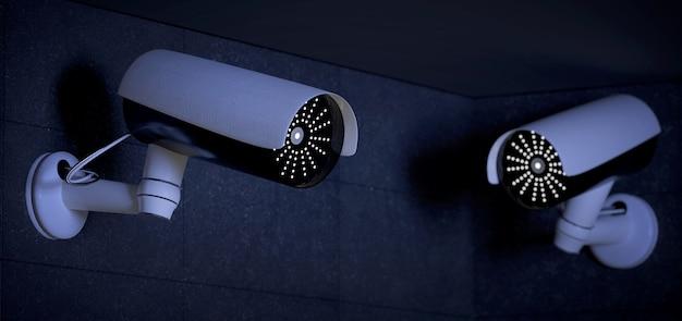 Sistema de cámaras de seguridad cctv.