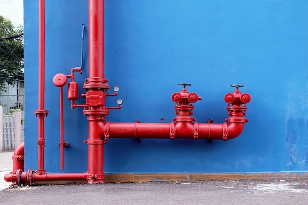 Sistema de extinción de incendios industrial y de la construcción