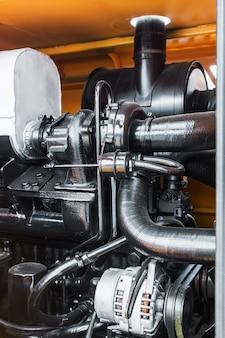 Sistema hidráulico del tractor.