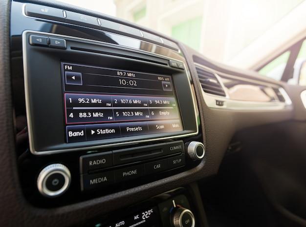Sistema inteligente de pantalla táctil multimedia para automóvil