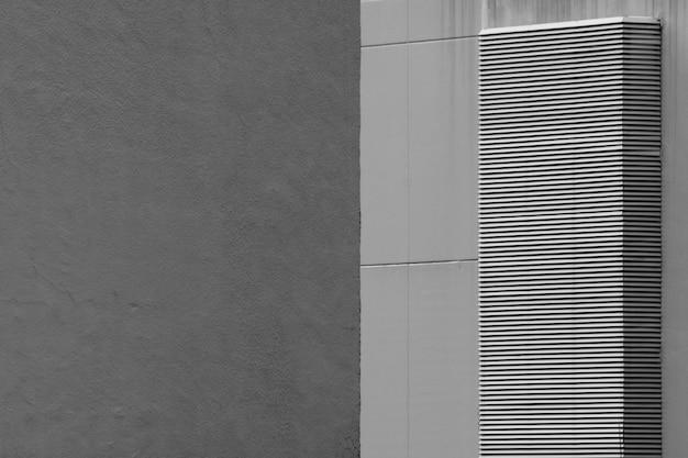 Sistema de ventilación en edificio moderno.