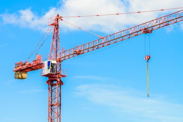 Sitio de construcción edificio