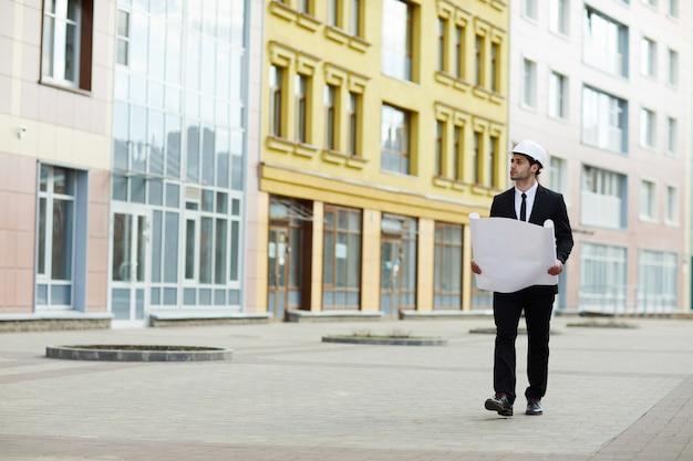 Sitio de inspección del empresario