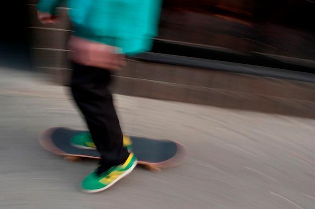 Skater en boston, massachusetts, ee.uu.