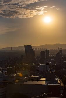Skyline de la ciudad de méxico