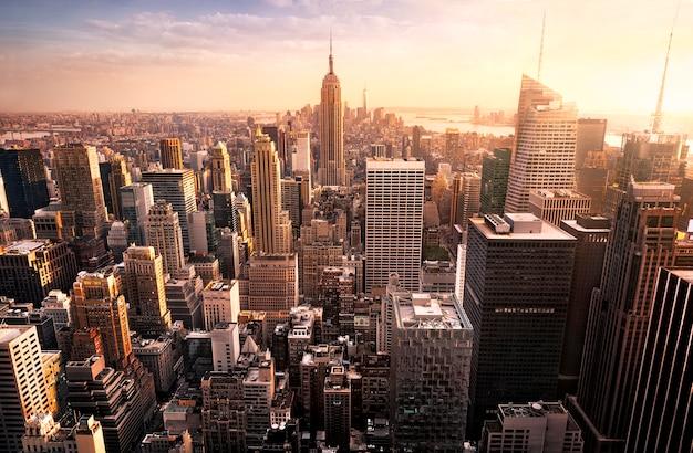 Skyline de la ciudad de nueva york