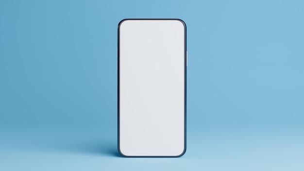 Smartphone en azul.