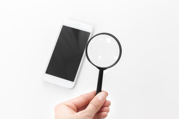 Smartphone con cristal magnifico