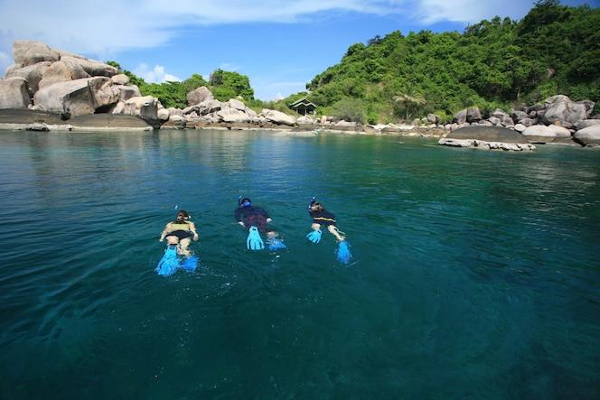 Snorkeling en koh tao