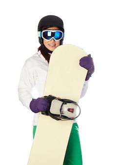Snowboarder femenino