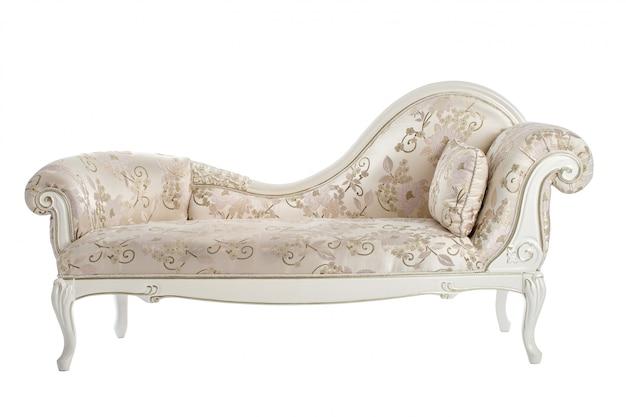 Sofá tallado en el renacimiento, barroco