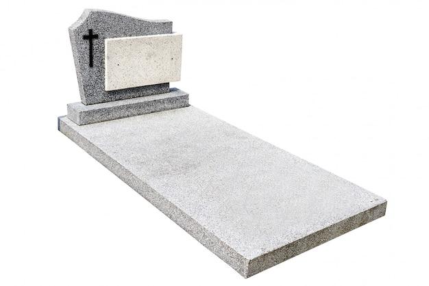 Sola lápida cortada