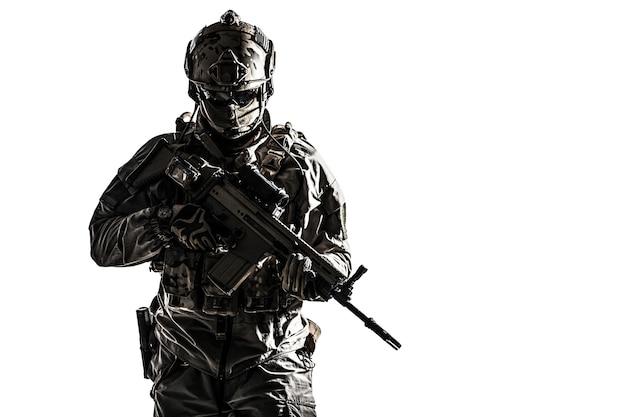 Soldado del ejército de fuerzas de operaciones especiales