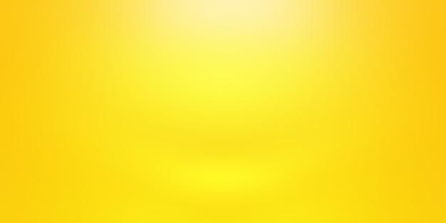 Sólido abstracto de fondo amarillo brillante del sitio de la pared del estudio de la pendiente.