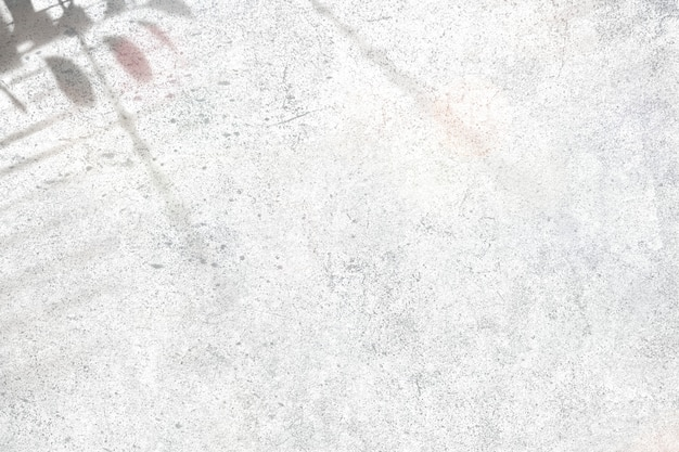 Sombra en un muro de hormigón
