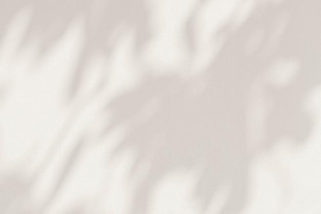 Sombras de hojas en una ilustración de fondo de cemento