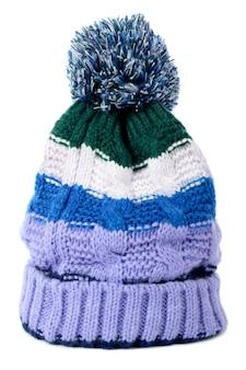 Sombrero bobble aislado contra un fondo blanco