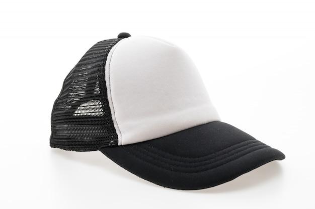 Sombrero de lona de deporte de la manera en blanco
