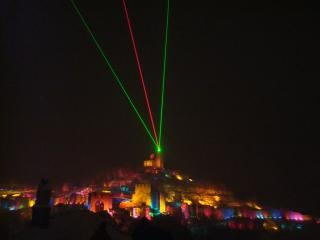 Sonido y luces muestran en tzarevetz veli