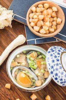 Sopa de abulón