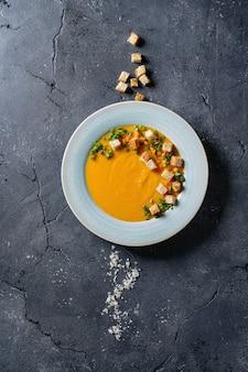 Sopa de zanahoria de calabaza