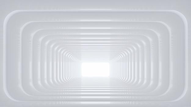 Soporte de producto en blanco render 3d