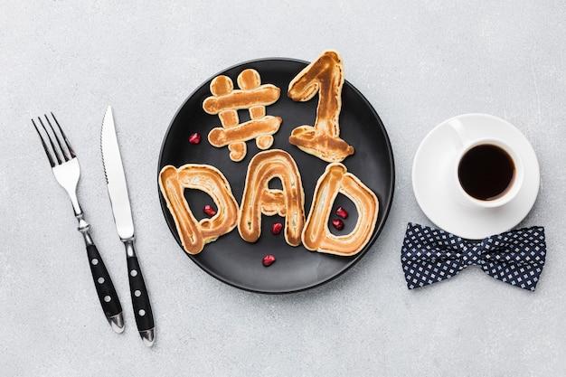 Sorpresa del desayuno del día del padre