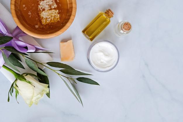 Spa productos naturales para el cuidado de la piel.