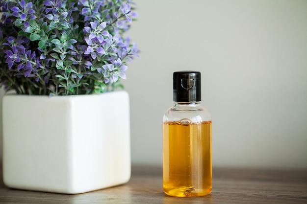 Spa relax y cuidado saludable. sano . productos domésticos naturales para el cuidado de la piel.