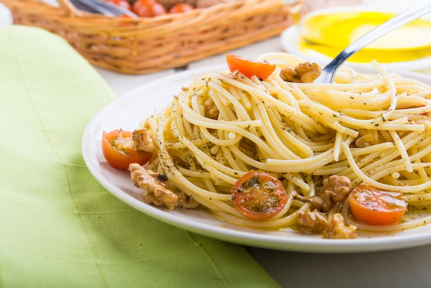Spaghettis saludable