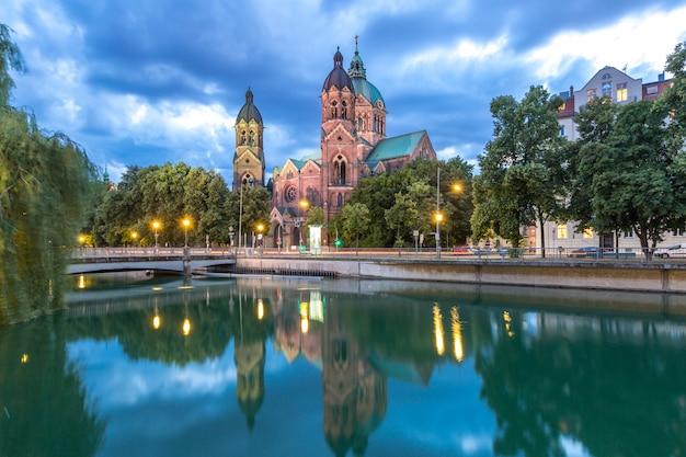 St. lukas iglesia rosa munich