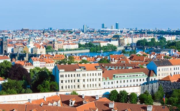 Stare mesto, vista de la ciudad vieja, praga, república checa