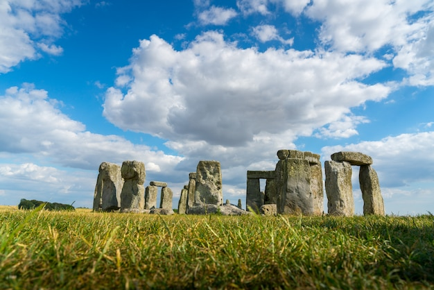 Stonehenge, inglaterra, reino unido en verano