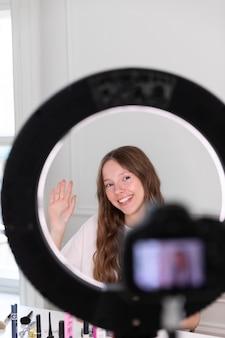 Streaming youtube maquillador freelancer