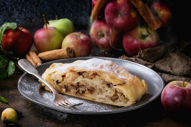 Strudel de manzana casero