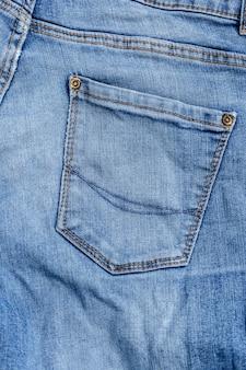 Studio shot jeans, ropa, denim