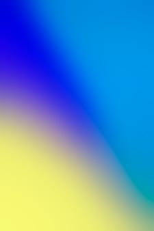 Suave mezcla de colores vivos