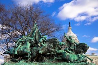 Subvención de la caballería monumento de capital
