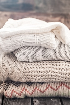 Suéteres cálidos y acogedores