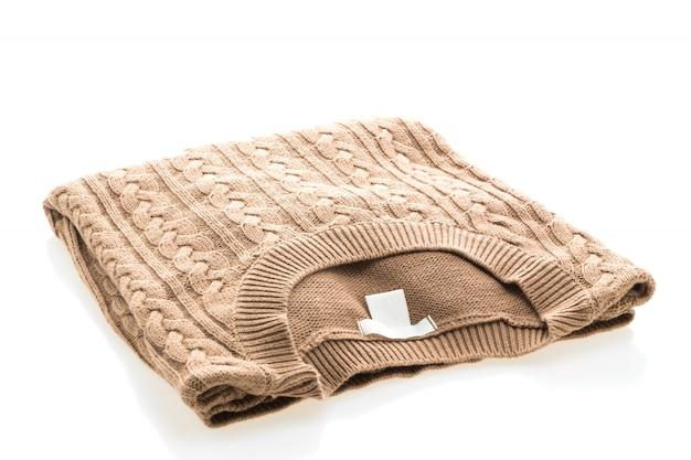 Suéteres de ropa para la temporada de invierno.