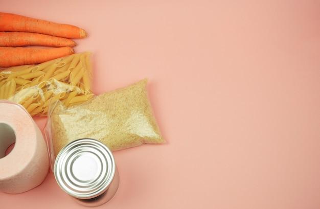 Suministro de alimentos crisis alimentaria de cuarentena