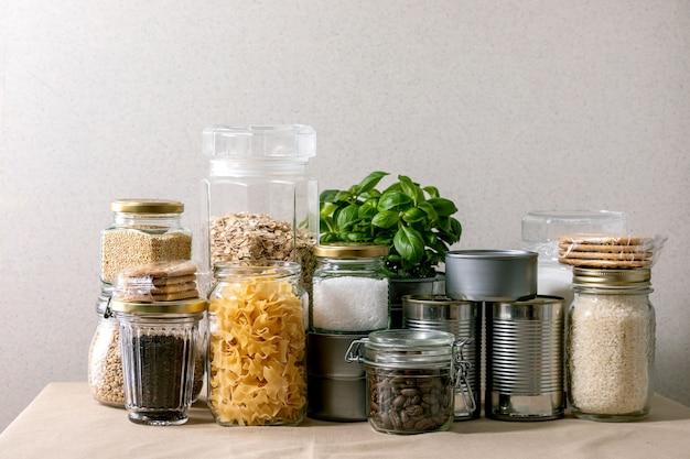 Suministros de alimentos para el período de cuarentena